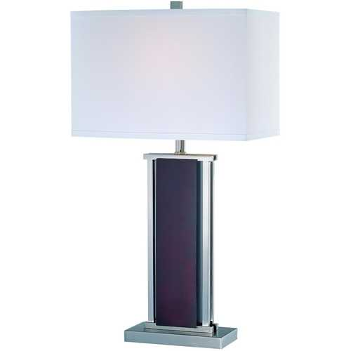 Lite Source Lighting Lite Source Lighting Rektor Polished Steel Table Lamp LS-21118