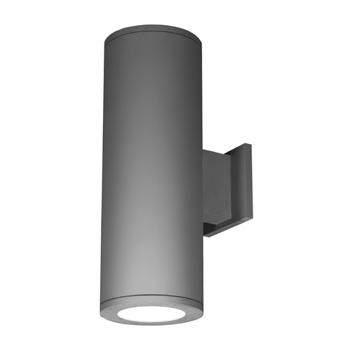 WAC Lighting 6-Inch Graphite LED Tube Architectural Up and Down Wall Light 2700K 4450LM DS-WD06-F27A-GH