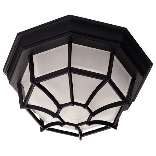 Savoy House Savoy House Black Close To Ceiling Light 07066-BLK