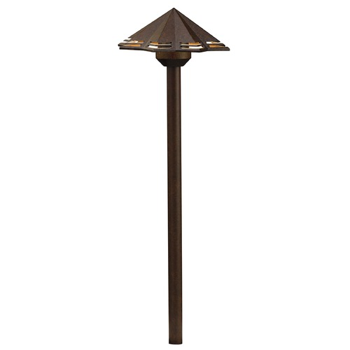 Kichler Lighting Kichler Lighting Textured Tannery Bronze LED Path Light 16123TZT30