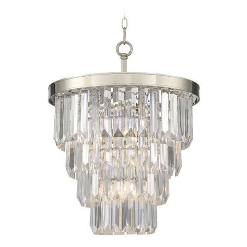 Savoy House Savoy House Lighting Tierney Polished Nickel Pendant Light 1-9805-4-109