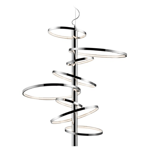 Elan Lighting Elan Lighting Sirkus Chrome LED Pendant Light 83668