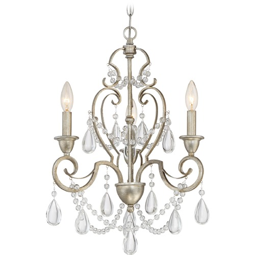 Quoizel Lighting Quoizel Lighting Riverton Vintage Gold Mini-Chandelier RVN5303VG