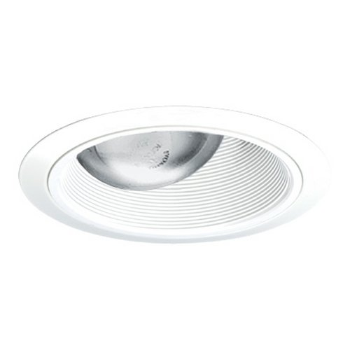 Juno Lighting Group Adjustable Tapered Baffle for 6-Inch Recessed Housings 264 WWH