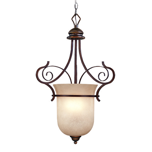 Jeremiah Lighting Jeremiah Preston Place Augustine Pendant Light with Bell Shade 21723-AGT