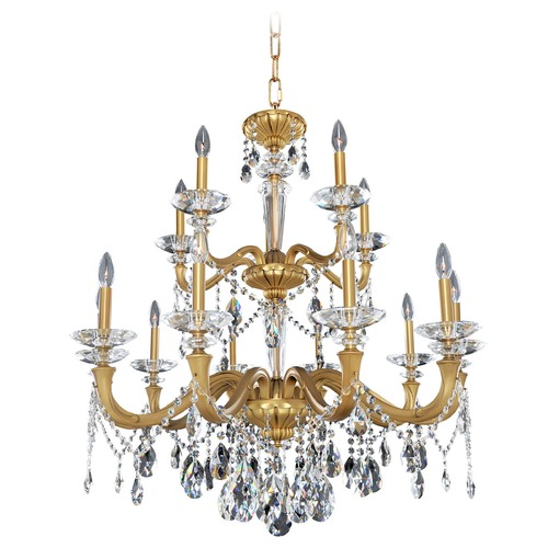 Allegri Lighting Jolivet 15 Light Crystal Chandelier 021772-032-FR001