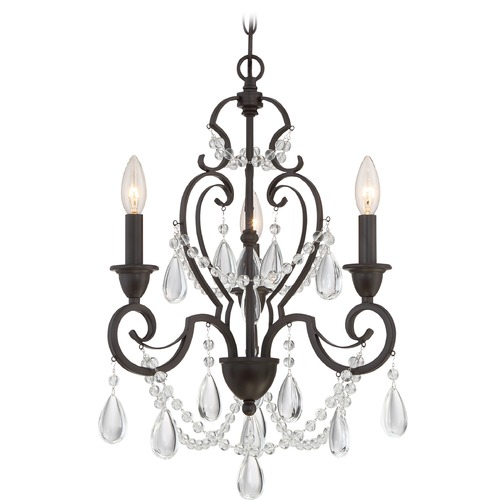 Quoizel Lighting Quoizel Lighting Riverton Western Bronze Mini-Chandelier RVN5303WT