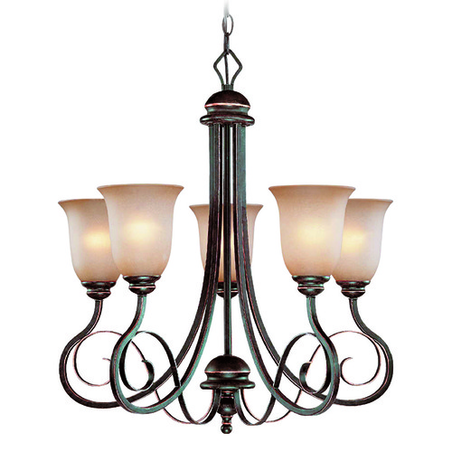 Jeremiah Lighting Jeremiah Preston Place Augustine Chandelier 21725-AGT