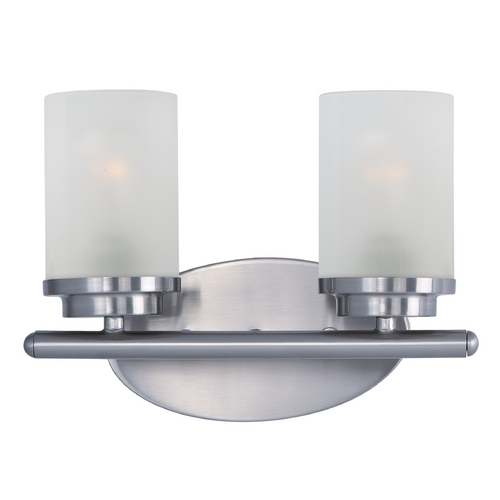 Maxim Lighting Maxim Lighting Corona Satin Nickel Bathroom Light 10212FTSN