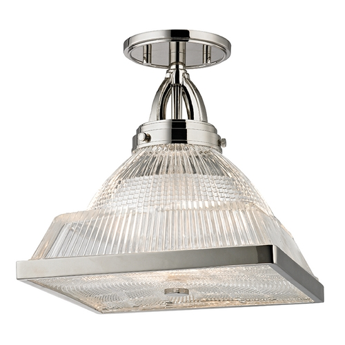 Hudson Valley Lighting Hudson Valley Lighting Harriman Polished Nickel Semi-Flushmount Light 4410-PN