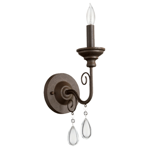 Quorum Lighting Quorum Lighting Vesta Oiled Bronze Sconce 5501-1-86