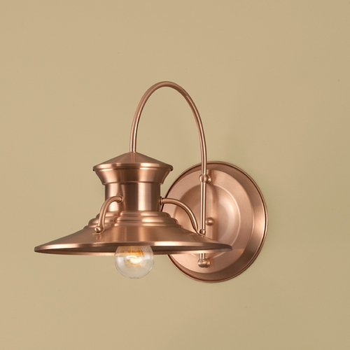 Norwell Lighting Norwell Lighting Budapest Copper Outdoor Wall Light 5153-CO-NG