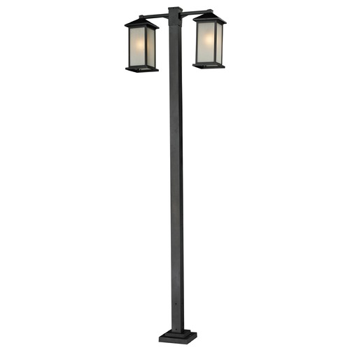 Z-Lite Z-Lite Vienna Black Post Light 547-2-536P-BK