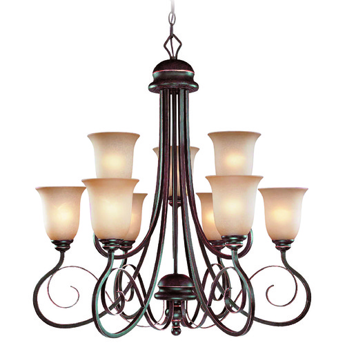 Jeremiah Lighting Jeremiah Preston Place Augustine Chandelier 21729-AGT