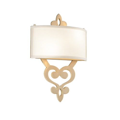 Corbett Lighting Corbett Lighting Olivia Satin / Polished Brass Sconce 201-12