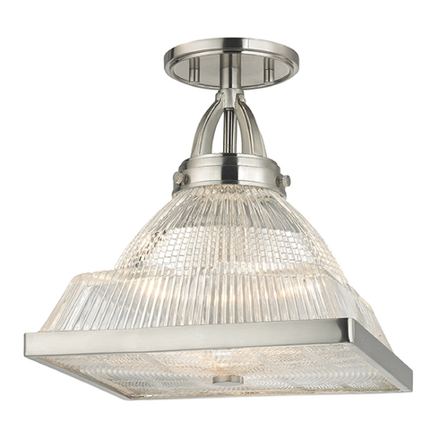 Hudson Valley Lighting Hudson Valley Lighting Harriman Satin Nickel Semi-Flushmount Light 4410-SN