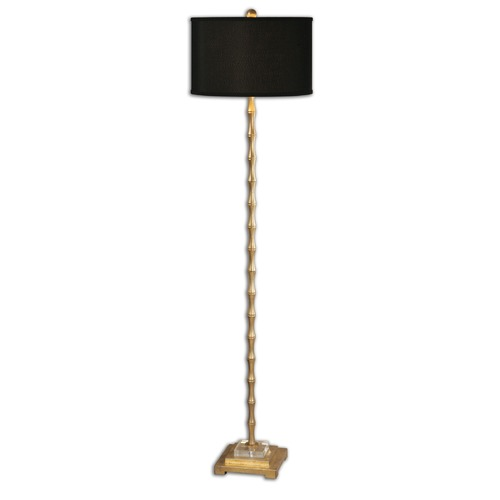 Uttermost Lighting Uttermost Quindici Metal Bamboo Floor Lamp 28598-1