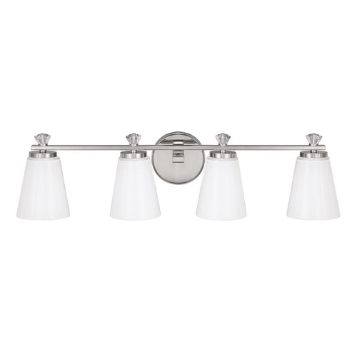 Capital Lighting Capital Lighting Alisa Polished Nickel Bathroom Light 8024PN-127