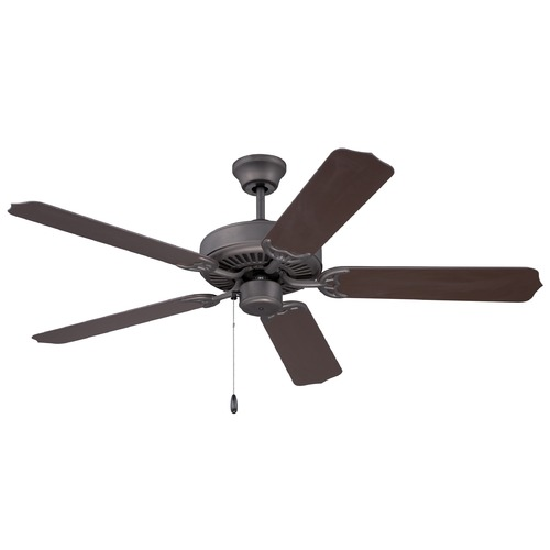 Craftmade Lighting Craftmade All-Weather Espresso Ceiling Fan Without Light WOD52ESP5X