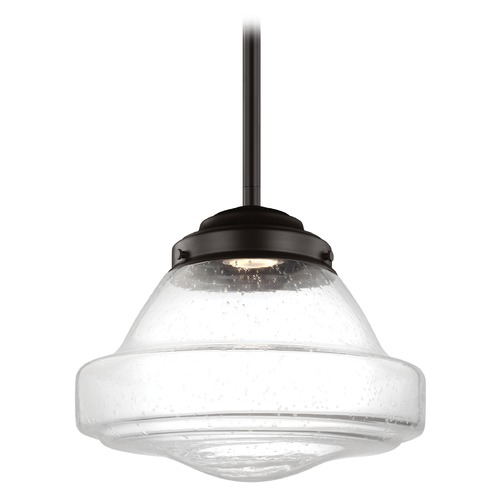 Feiss Lighting Feiss Lighting Alcott Oil Rubbed Bronze LED Pendant Light P1380ORB-LED