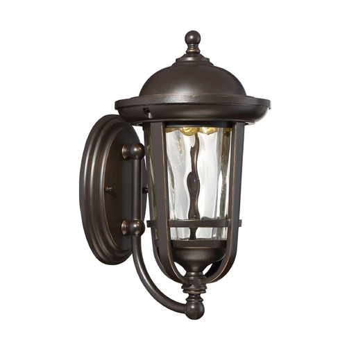 Designers Fountain Lighting Designers Fountain Westbrooke Aged Bronze Patina LED Outdoor Wall Light LED34431-ABP