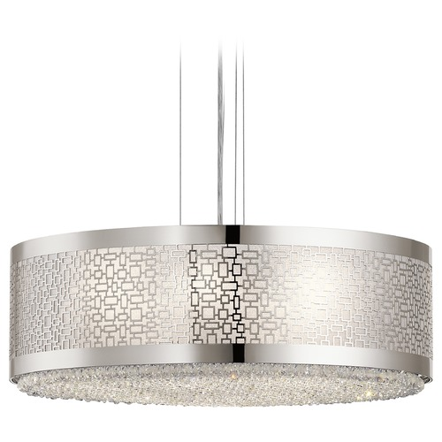 Elan Lighting Elan Lighting Massimo Polished Nickel Pendant Light 83784