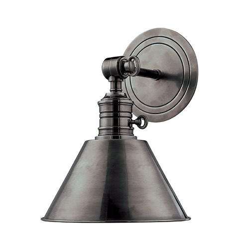 Hudson Valley Lighting Sconce Wall Light in Antique Nickel Finish 8321-AN
