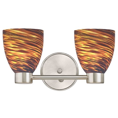 Design Classics Lighting Design Classics Lighting Aon Fuse Satin Nickel Bathroom Light 1802-09 GL1023MB