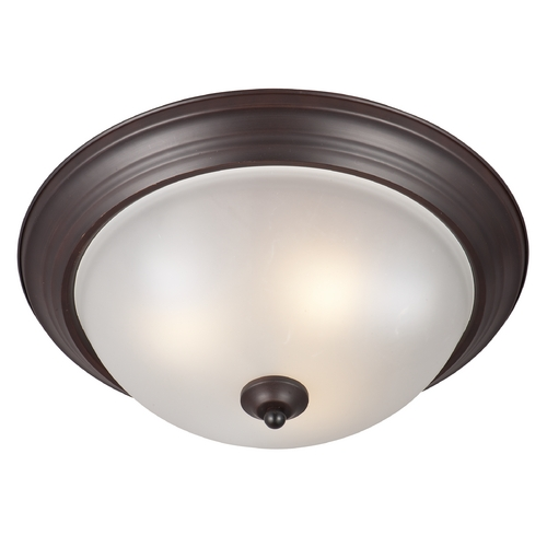 Maxim Lighting Maxim Lighting Oil Rubbed Bronze Flushmount Light 85842FTOI
