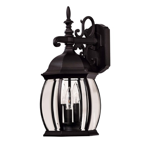 Savoy House Savoy House Black Outdoor Wall Light 07071-BLK