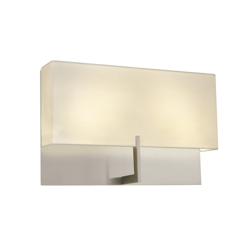 Sonneman Lighting Modern Sconce Wall Lights in Satin Nickel Finish 4431.13