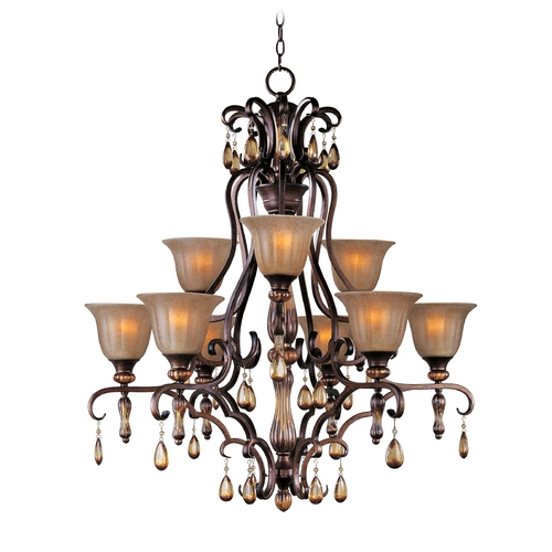 Maxim Lighting Maxim Lighting Dresden Filbert Crystal Chandelier 22266EMFL