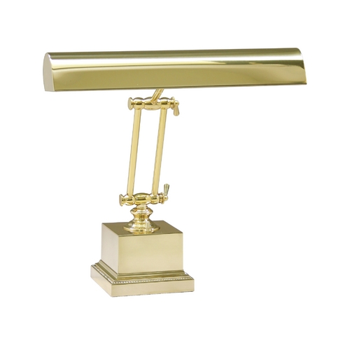 House of Troy Lighting Piano / Banker Lamp in Polished Brass Finish P14-202