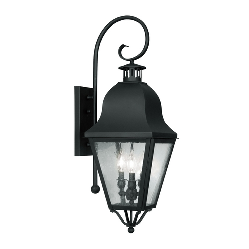 Livex Lighting Livex Lighting Amwell Black Outdoor Wall Light 2555-04