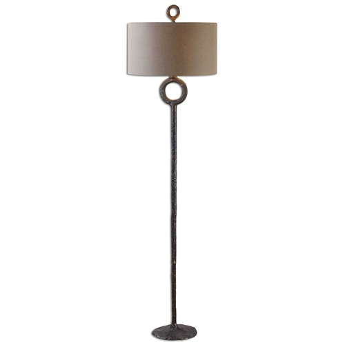 Uttermost Lighting Uttermost Ferro Cast Iron Floor Lamp 28633