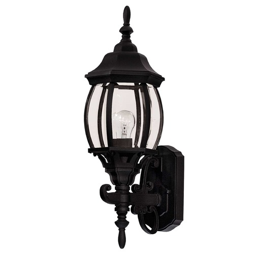 Savoy House Savoy House Black Outdoor Wall Light 07073-BLK