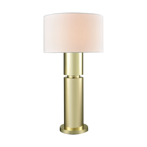 Dimond Lighting Dimond Nikki Gold Plate Table Lamp with Drum Shade D3204