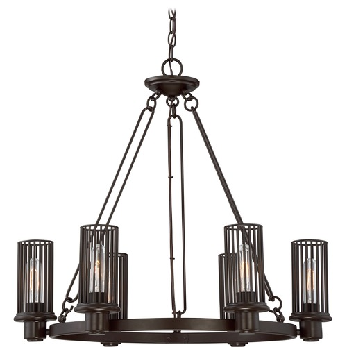 Quoizel Lighting Quoizel Lighting Belgrade Western Bronze Chandelier BGD5006WT