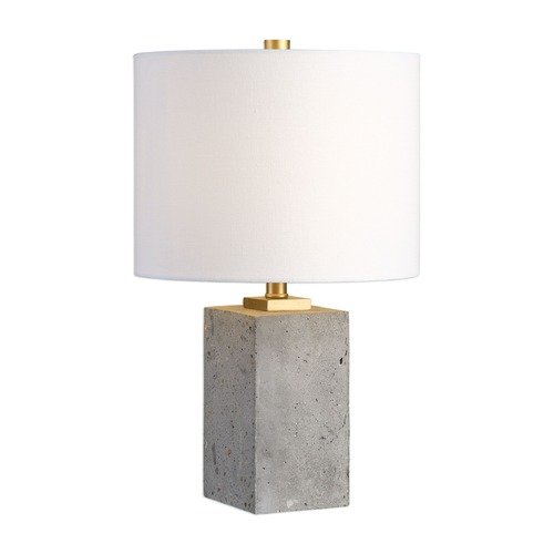 Uttermost Lighting Uttermost Drexel Concrete Block Lamp 29237-1