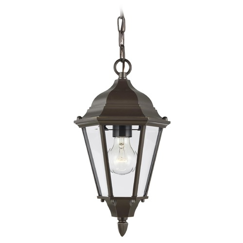 Sea Gull Lighting Sea Gull Lighting Bakersville Heirloom Bronze Outdoor Hanging Light 60938-782