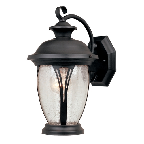 Designers Fountain Lighting Outdoor Wall Light with Clear Glass in Bronze Finish 30511-BZ