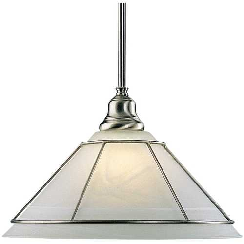 Dolan Designs Lighting Pendant with Alabaster Glass 622-09