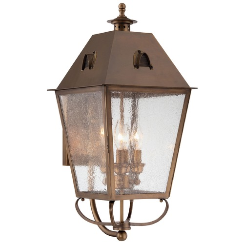 Minka Lavery Minka Lighting Erenshire English Brass Outdoor Wall Light 72427-212