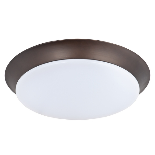 Maxim Lighting Maxim Lighting Profile Ee Bronze LED Flushmount Light 87595WTBZ