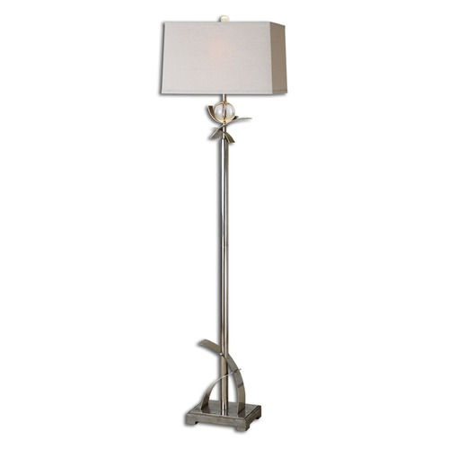 Uttermost Lighting Uttermost Cortlandt Curved Metal Floor Lamp 28723