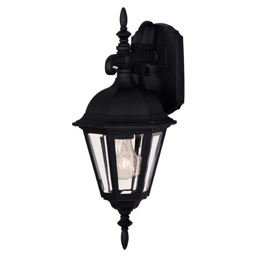 Savoy House Savoy House Black Outdoor Wall Light 07075-BLK