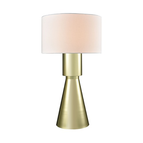 Dimond Lighting Dimond Paris Gold Plate Table Lamp with Drum Shade D3205