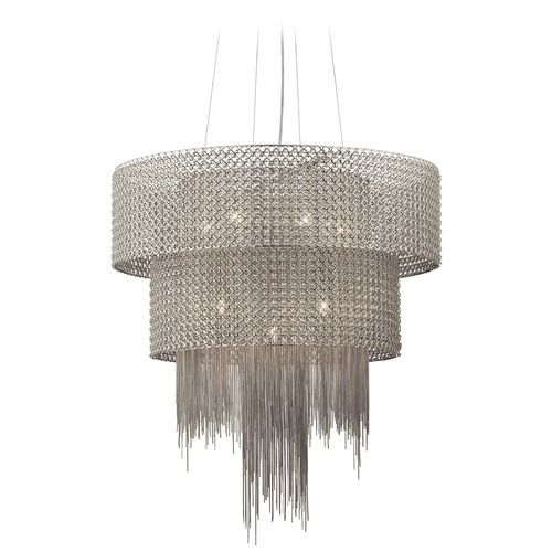 Elan Lighting Elan Lighting Elauna Brushed Nickel Chandelier 83681