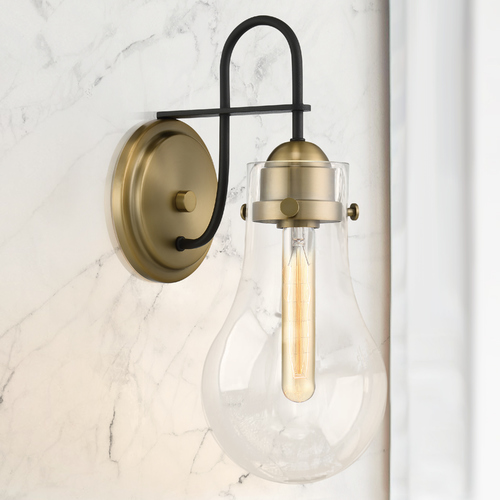 Quoizel Lighting Quoizel Lighting Winstead Weathered Brass Sconce QW4065WS