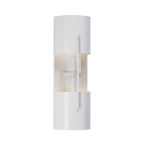 Sonneman Lighting Modern Sconce Wall Light in Satin White Finish 1712.03LF